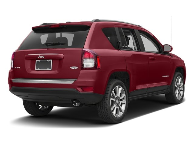 Deep Cherry Red Crystal Pearlcoat 2017 Jeep Compass Pictures Compass Latitude 4x4 *Ltd Avail* photos rear view