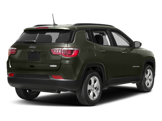 Olive Green Pearlcoat 2017 Jeep Compass Pictures Compass Latitude FWD photos rear view