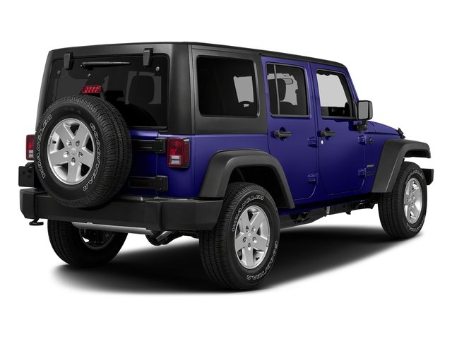 Xtreme Purple Pearlcoat 2017 Jeep Wrangler Unlimited Pictures Wrangler Unlimited Utility 4D Unlimited Sport 4WD V6 photos rear view