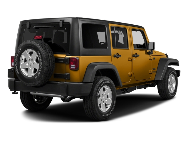 Gobi Clearcoat 2017 Jeep Wrangler Unlimited Pictures Wrangler Unlimited Big Bear 4x4 *Ltd Avail* photos rear view