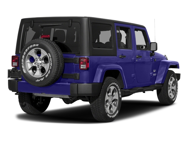 Xtreme Purple Pearlcoat 2017 Jeep Wrangler Unlimited Pictures Wrangler Unlimited Sahara 4x4 photos rear view