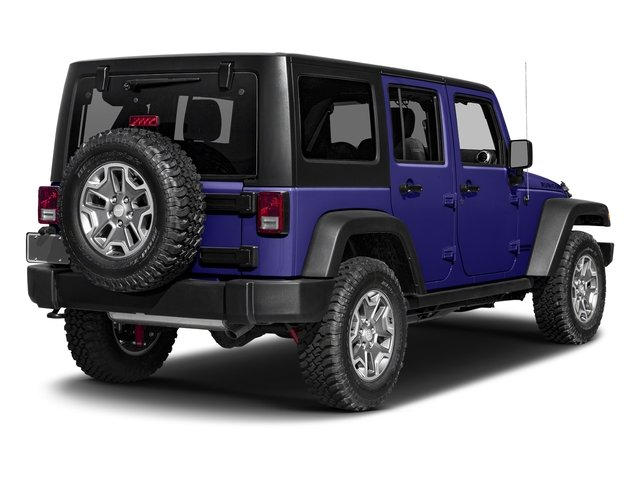 Xtreme Purple Pearlcoat 2017 Jeep Wrangler Unlimited Pictures Wrangler Unlimited Rubicon Recon 4x4 photos rear view