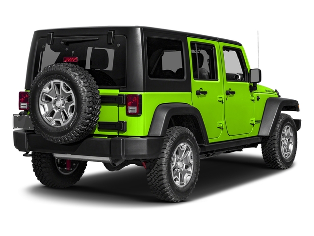 Hypergreen Clearcoat 2017 Jeep Wrangler Unlimited Pictures Wrangler Unlimited Utility 4D Unlimited Rubicon 4WD V6 photos rear view