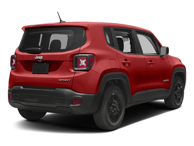 Colorado Red 2017 Jeep Renegade Pictures Renegade Sport 4x4 photos rear view