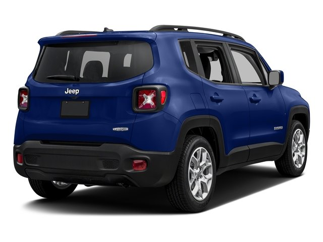 Jetset Blue 2017 Jeep Renegade Pictures Renegade Altitude FWD photos rear view