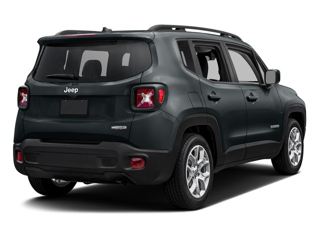 Anvil 2017 Jeep Renegade Pictures Renegade Latitude FWD photos rear view