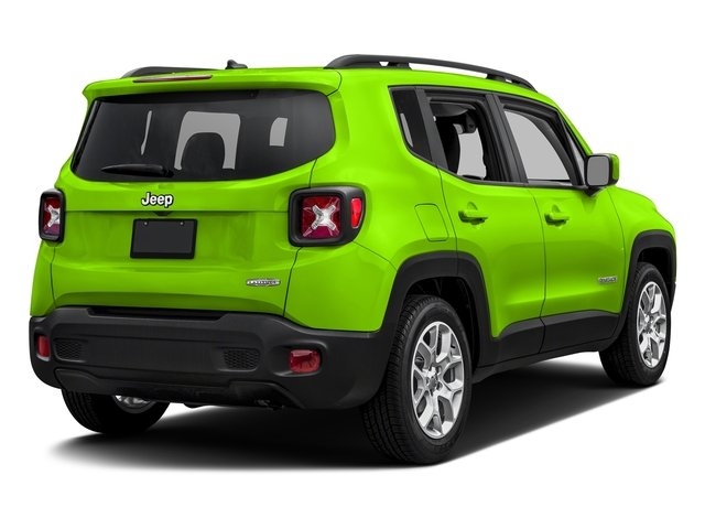 Hypergreen Clearcoat 2017 Jeep Renegade Pictures Renegade Latitude 4x4 photos rear view