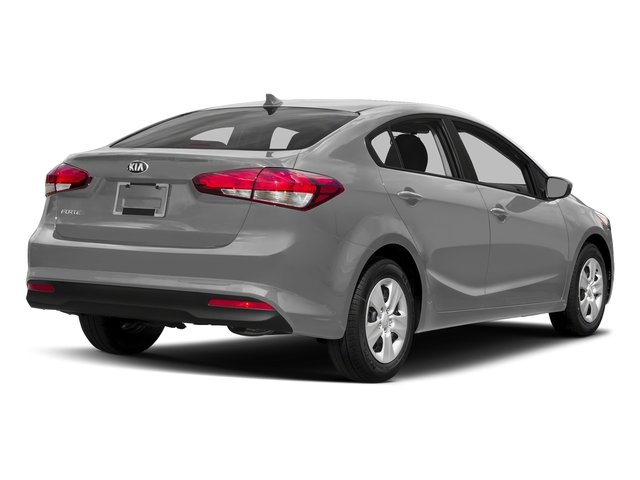 Silky Silver 2017 Kia Forte Pictures Forte EX Auto photos rear view