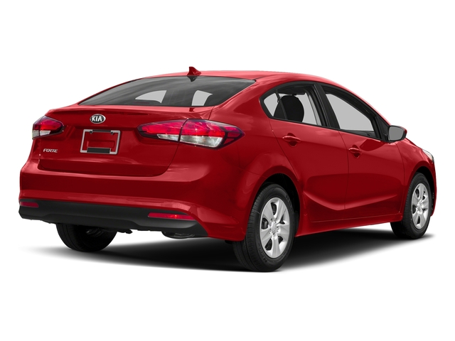 Currant Red 2017 Kia Forte Pictures Forte EX Auto photos rear view