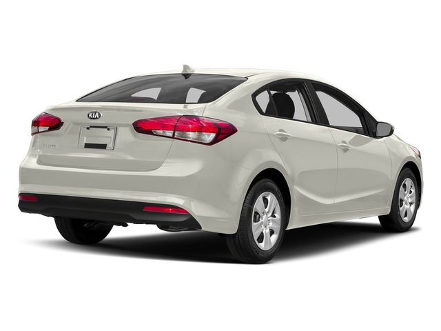 Snow White Pearl 2017 Kia Forte Pictures Forte EX Auto photos rear view