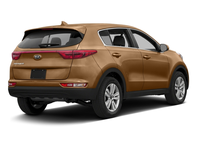 Burnished Copper 2017 Kia Sportage Pictures Sportage LX AWD photos rear view