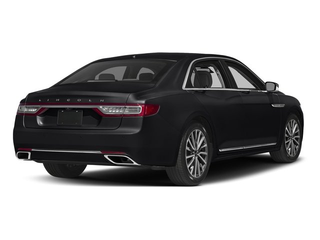 Black Velvet 2017 Lincoln Continental Pictures Continental Sedan 4D Livery photos rear view