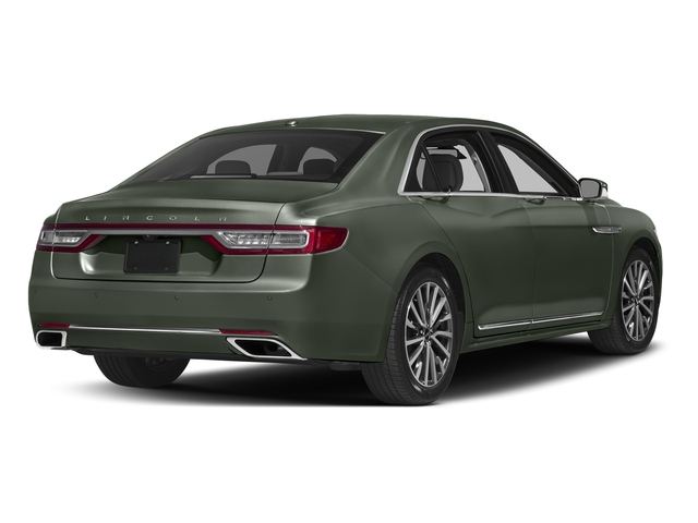 Jade Green Metallic 2017 Lincoln Continental Pictures Continental Sedan 4D Livery photos rear view