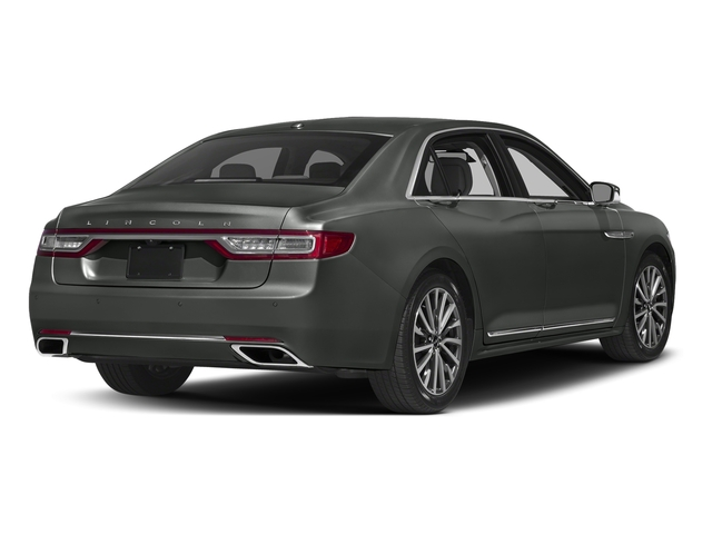Magnetic Gray Metallic 2017 Lincoln Continental Pictures Continental Sedan 4D Livery photos rear view