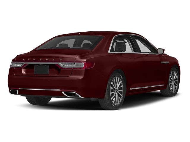 Burgundy Velvet Tinted Clearcoat 2017 Lincoln Continental Pictures Continental Sedan 4D Livery photos rear view