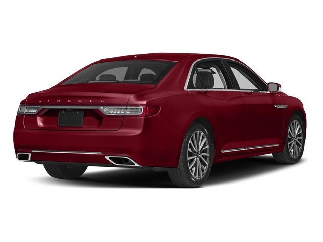 Ruby Red Tinted Clearcoat 2017 Lincoln Continental Pictures Continental Sedan 4D Livery photos rear view
