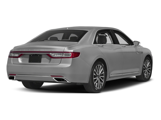 Ingot Silver Metallic 2017 Lincoln Continental Pictures Continental Sedan 4D Black Label AWD V6 Turbo photos rear view