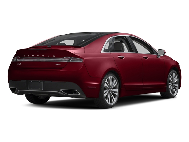 Ruby Red Metallic Tinted Clearcoat 2017 Lincoln MKZ Pictures MKZ Sedan 4D Select AWD I4 photos rear view