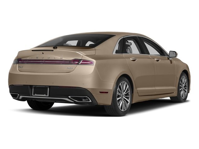 Palladium White Gold Metallic 2017 Lincoln MKZ Pictures MKZ Sedan 4D Select I4 Hybrid photos rear view