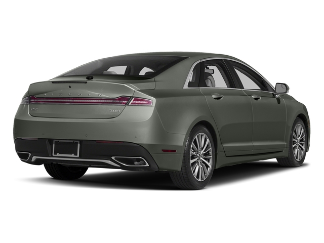 Jade Green Metallic 2017 Lincoln MKZ Pictures MKZ Sedan 4D Select I4 Hybrid photos rear view