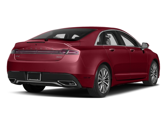 Ruby Red Metallic Tinted Clearcoat 2017 Lincoln MKZ Pictures MKZ Sedan 4D Select I4 Hybrid photos rear view