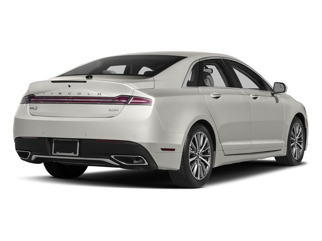 White Platinum Metallic Tri-Coat 2017 Lincoln MKZ Pictures MKZ Sedan 4D Select I4 Hybrid photos rear view