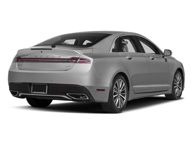 Ingot Silver Metallic 2017 Lincoln MKZ Pictures MKZ Sedan 4D Select I4 Hybrid photos rear view