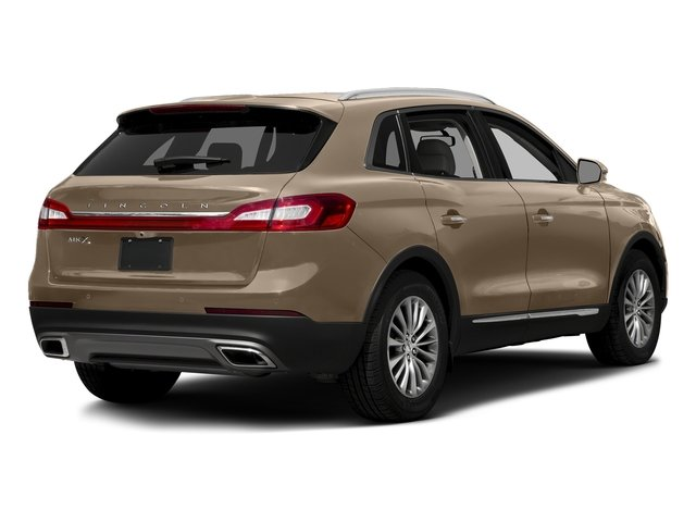 Palladium White Gold Metallic 2017 Lincoln MKX Pictures MKX Util 4D Reserve EcoBoost 2WD V6 photos rear view