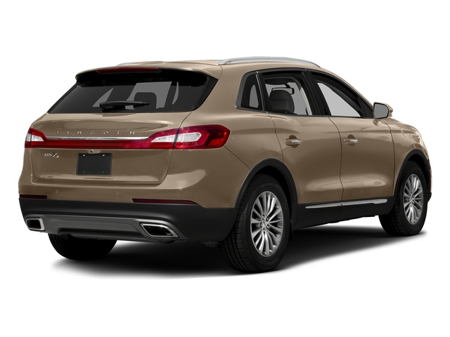 Palladium White Gold Metallic 2017 Lincoln MKX Pictures MKX Util 4D Premiere EcoBoost AWD V6 photos rear view
