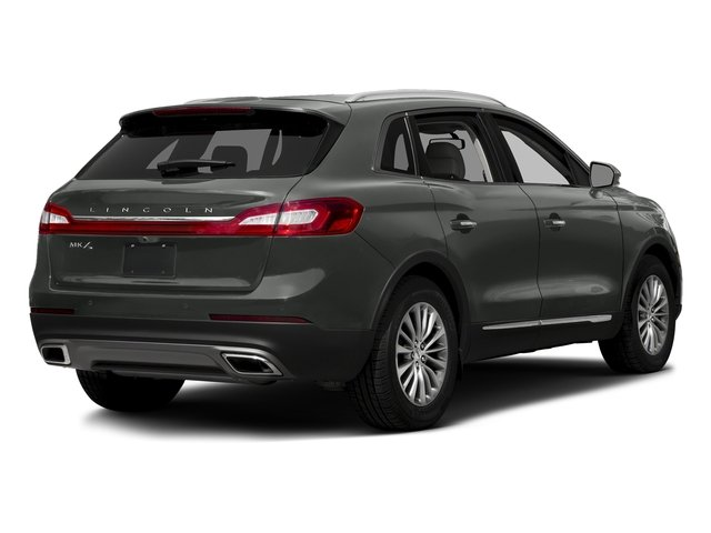 Magnetic Gray Metallic 2017 Lincoln MKX Pictures MKX Util 4D Premiere EcoBoost AWD V6 photos rear view