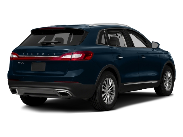 Midnight Sapphire Blue Metallic 2017 Lincoln MKX Pictures MKX Util 4D Premiere EcoBoost AWD V6 photos rear view