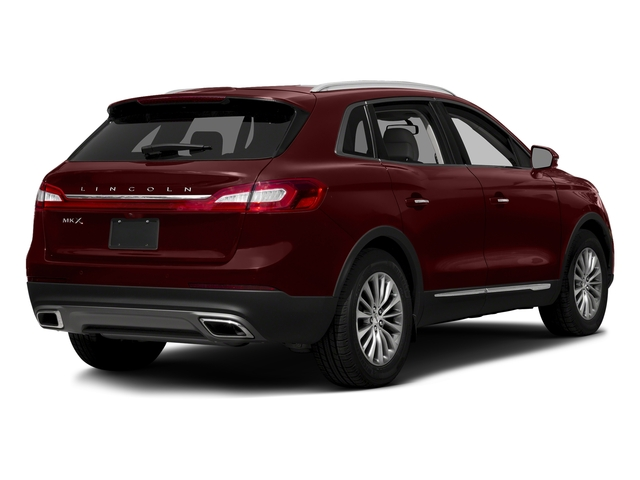 Burgundy Velvet Metallic Tinted Clearcoat 2017 Lincoln MKX Pictures MKX Util 4D Reserve EcoBoost 2WD V6 photos rear view