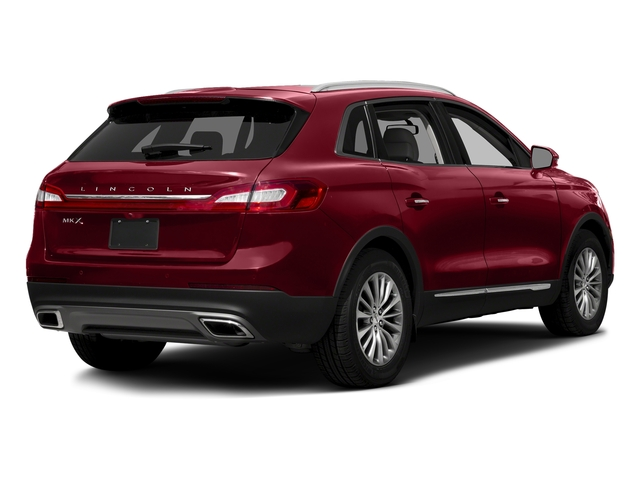 Ruby Red Metallic Tinted Clearcoat 2017 Lincoln MKX Pictures MKX Util 4D Premiere EcoBoost AWD V6 photos rear view