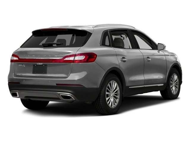Ingot Silver Metallic 2017 Lincoln MKX Pictures MKX Util 4D Premiere EcoBoost AWD V6 photos rear view