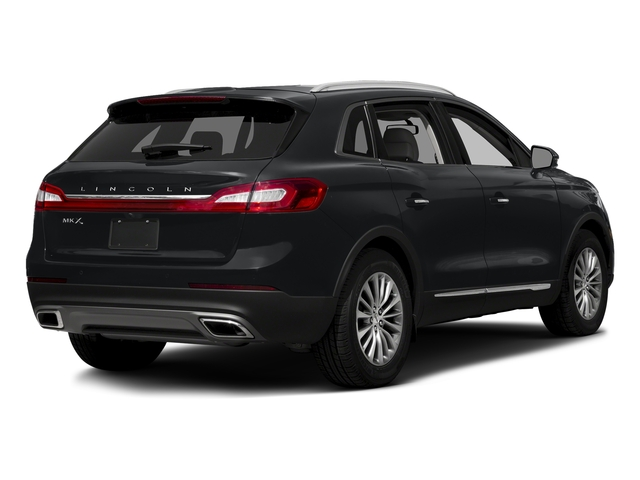 Diamond Black 2017 Lincoln MKX Pictures MKX Util 4D Reserve EcoBoost 2WD V6 photos rear view