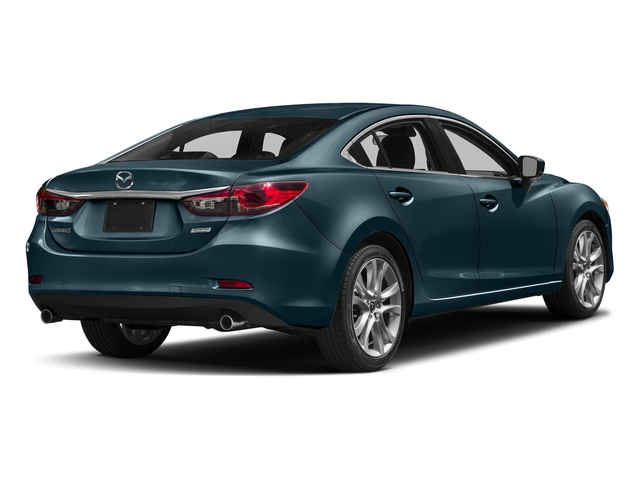 Deep Crystal Blue 2017 Mazda Mazda6 Pictures Mazda6 Sedan 4D Touring I4 photos rear view