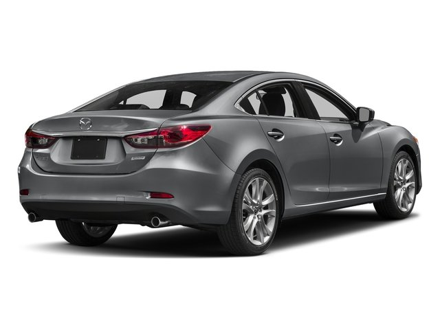 Machine Gray Metallic 2017 Mazda Mazda6 Pictures Mazda6 Sedan 4D Touring I4 photos rear view