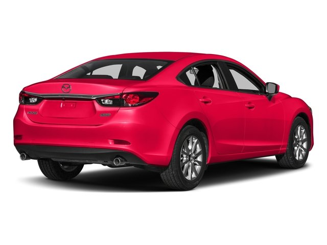 Soul Red Metallic 2017 Mazda Mazda6 Pictures Mazda6 Sedan 4D Sport I4 photos rear view