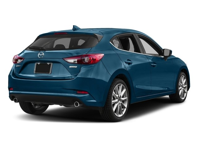 Eternal Blue Mica 2017 Mazda Mazda3 5-Door Pictures Mazda3 5-Door Grand Touring Manual photos rear view