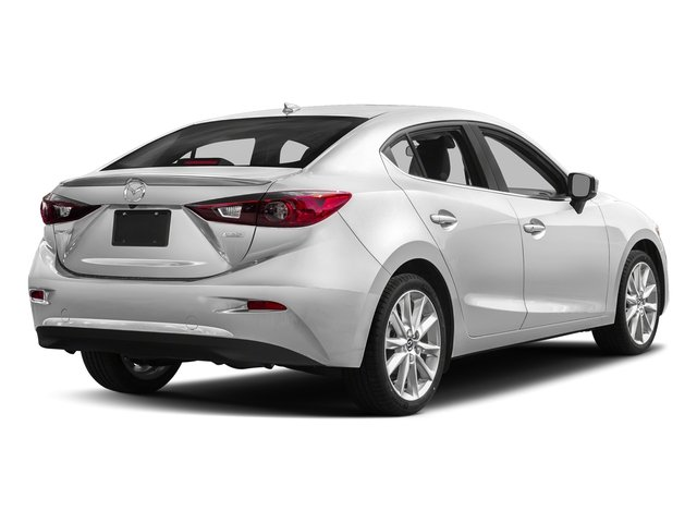 Snowflake White Pearl Mica 2017 Mazda Mazda3 4-Door Pictures Mazda3 4-Door Sedan 4D Grand Touring photos rear view