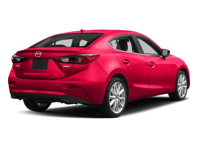 Soul Red Metallic 2017 Mazda Mazda3 4-Door Pictures Mazda3 4-Door Sedan 4D Grand Touring photos rear view
