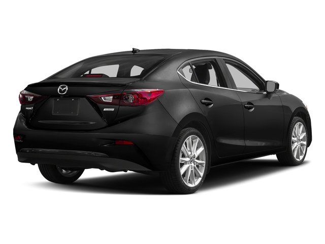 Jet Black Mica 2017 Mazda Mazda3 4-Door Pictures Mazda3 4-Door Sedan 4D Grand Touring photos rear view