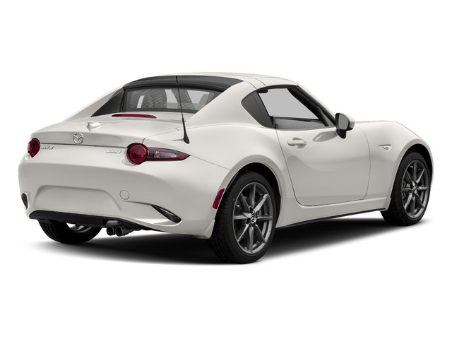 Crystal White Pearl 2017 Mazda MX-5 Miata RF Pictures MX-5 Miata RF Grand Touring Manual photos rear view
