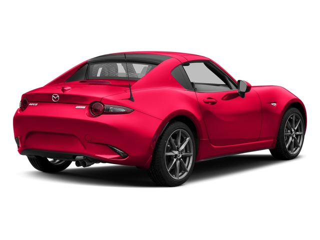 Soul Red Metallic 2017 Mazda MX-5 Miata RF Pictures MX-5 Miata RF Grand Touring Manual photos rear view