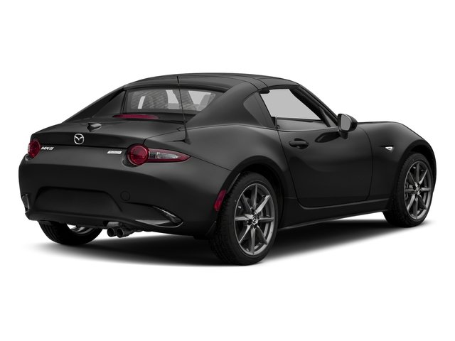 Jet Black Mica 2017 Mazda MX-5 Miata RF Pictures MX-5 Miata RF Grand Touring Manual photos rear view