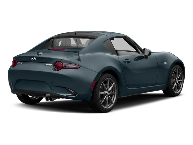 Blue Reflex Mica 2017 Mazda MX-5 Miata RF Pictures MX-5 Miata RF Grand Touring Manual photos rear view