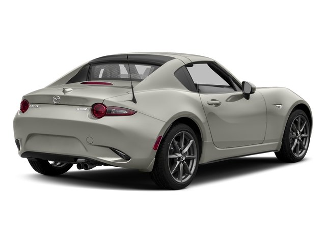 Ceramic Metallic 2017 Mazda MX-5 Miata RF Pictures MX-5 Miata RF Grand Touring Manual photos rear view