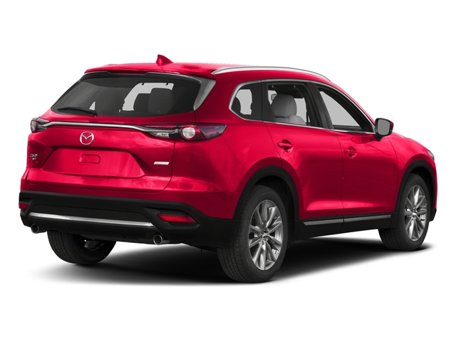 Soul Red Metallic 2017 Mazda CX-9 Pictures CX-9 Grand Touring AWD photos rear view