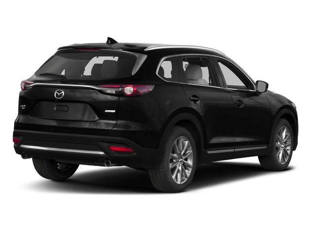 Jet Black Mica 2017 Mazda CX-9 Pictures CX-9 Grand Touring AWD photos rear view