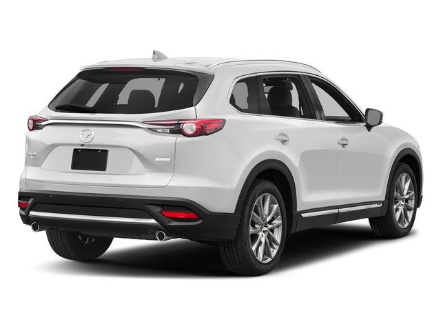 Snowflake White Pearl Mica 2017 Mazda CX-9 Pictures CX-9 Utility 4D Signature AWD I4 photos rear view